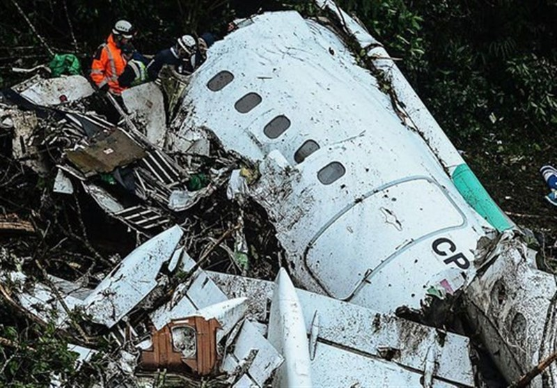 سقوط هواپیمای تیم چاپه کوئنسه