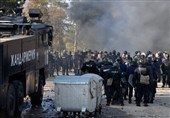 برخورد پلیس بلغاریا با پناهجویان