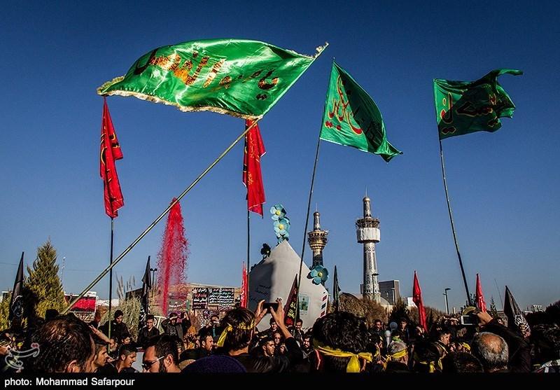 مراسم عزاداری شهادت ثامنالحجج(ع) در سراسر استان قزوین برگزار شد