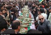 تشییع و تدفین شهدای حله ی عراق در اهواز