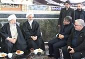 دیدار وزیر دادگستری با امام جمعه کاشان