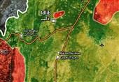 نقشه ادلب
