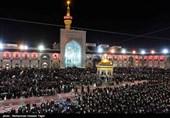 مراسم شام غریبان در حرم امام رضا(ع) - مشهد