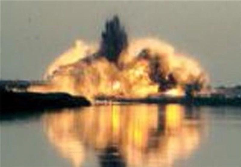 مغربی موصل میں داعش کے اسلحے سے بھرے گودام میں دھماکہ