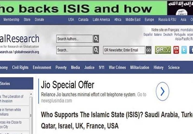 فهرست حامیان داعش