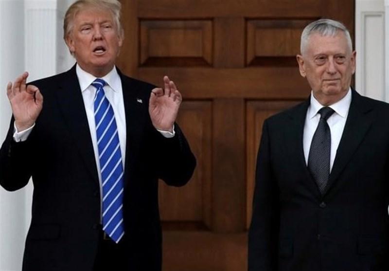 وزیر دفاع آمریکا: نقشی در تعیین استراتژی جدید ترامپ در افغانستان ندارم