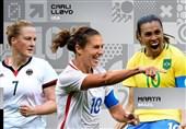 3 کاندیدای بهترین فوتبالیست زن در سال 2016