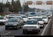 ترافیک سنگین ورودی ها و خروجی های شهر قم