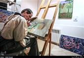 نمایشگاه هنرمندان توانیاب(بربلندای چکاد)