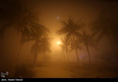 الضباب فی جزیرة کیش السیاحیة