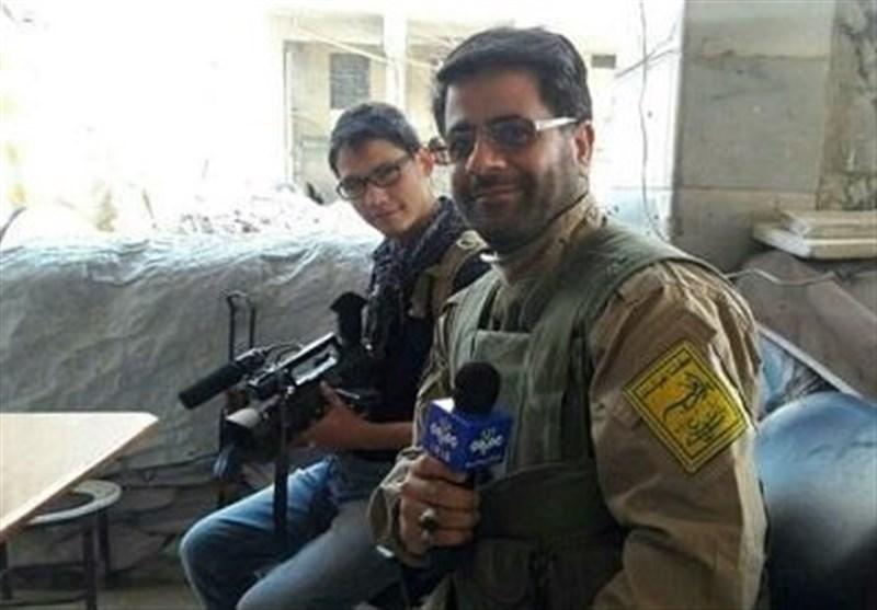 خبرنگار شهید محسن خزایی