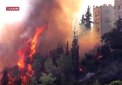 الحرائق کشفت وهن الکیان الصهیونی