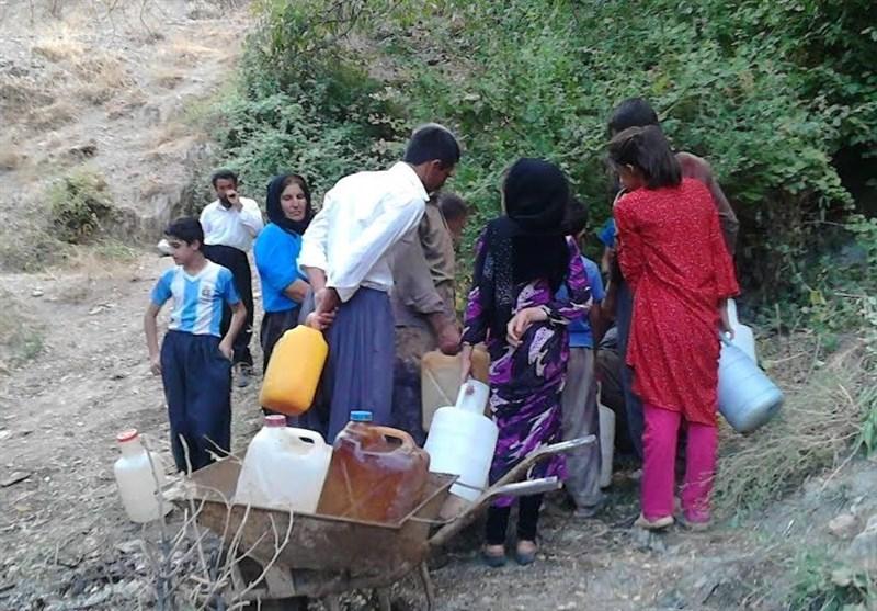 بحران کمبود آب در روستای «نشکاش»/وقتی مردم آب آلوده مصرف میکنند