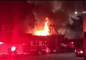 آتش سوزی اوکلند