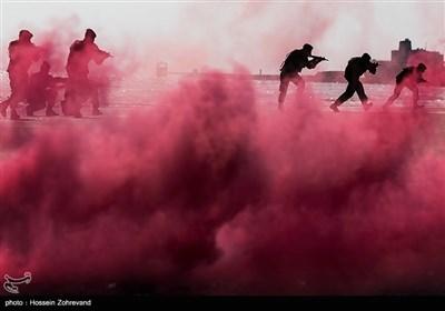 تمارین برمائیة للواء المهام الخاصة فی الجیش الإیرانی