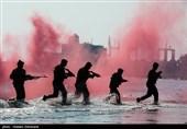 تمرینات آبی - خاکی تیپ تکاوران عملیات ویژه نیروی دریایی ارتش