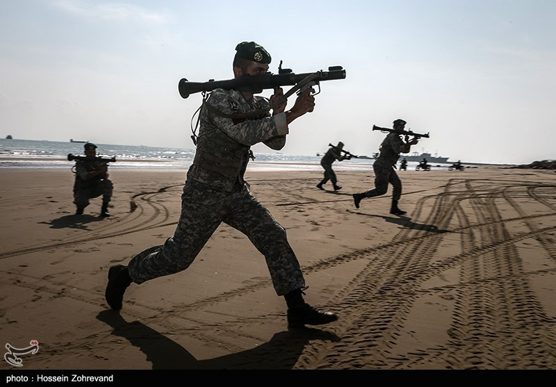 تمرینات تیپ تکاوران عملیات ویژه ارتش