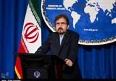 قاسمی: ایران تعتبر الدفاع امام التصرفات والسیاسات العدائیة ضدها حقا مشروعا