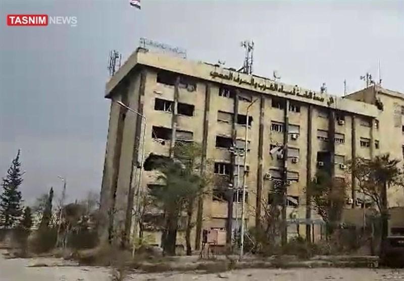 حلب قبل استعادة الجیش مؤسسة المیاه +فیدیو