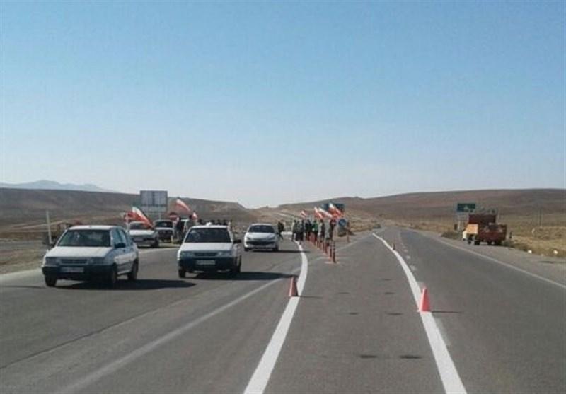 افتتاح محور بجنورد جنگل گلستان