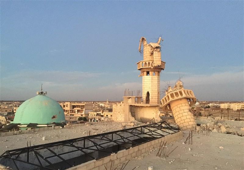 قناع البربریة الوحشیة یسقط عن وجه الغرب فی حلب