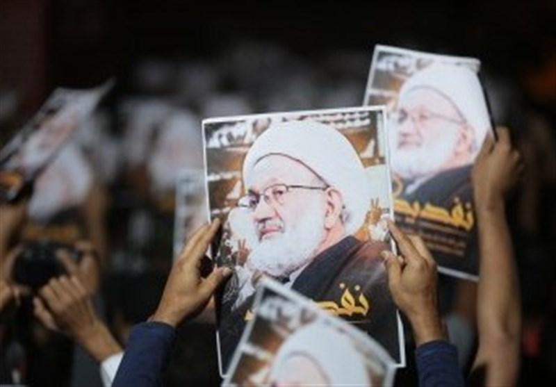 تظاهرات رافضة لمحاکمة سلمان ومؤیدة للشیخ قاسم فی البحرین + صور