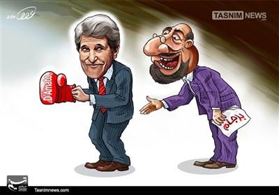 کاریکاتور/ آمریکا ناجوانمردانه نقض برجام کرد