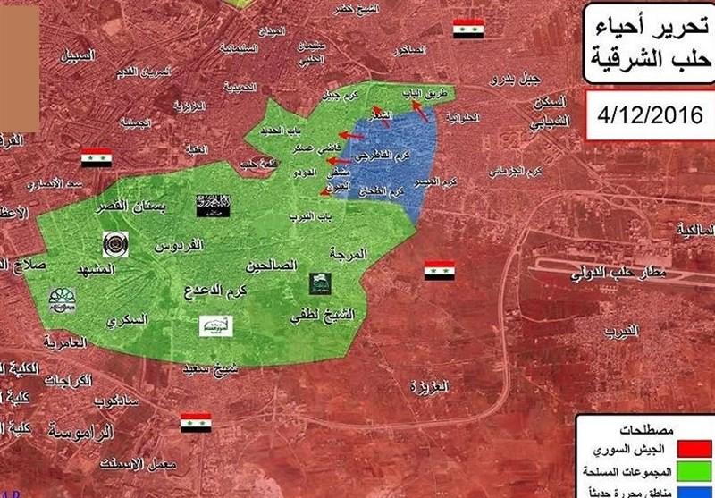 موضع روسیه پاکسازی کامل حلب از گروههای معارض است