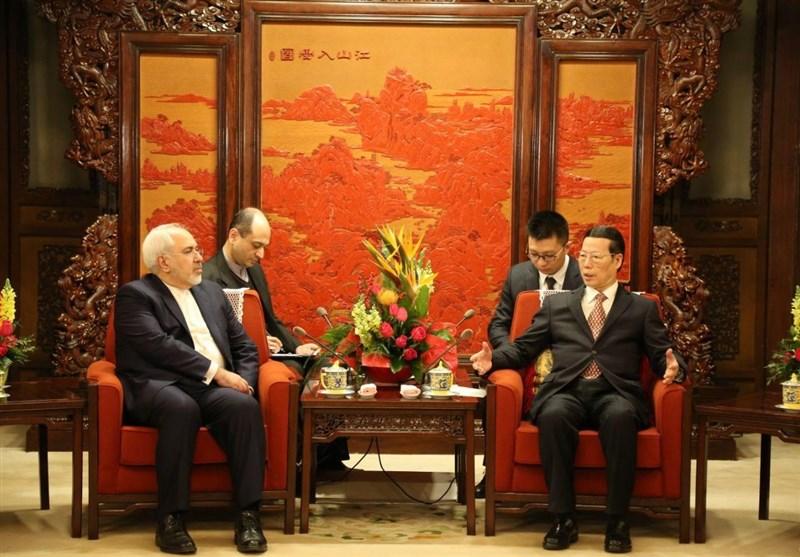 ظریف یلتقی مساعد رئیس الوزراء الصینی