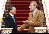رئیس مجلس مشورتی اندونزی با لاریجانی