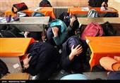 مانور مقابله با زلزله در همدان