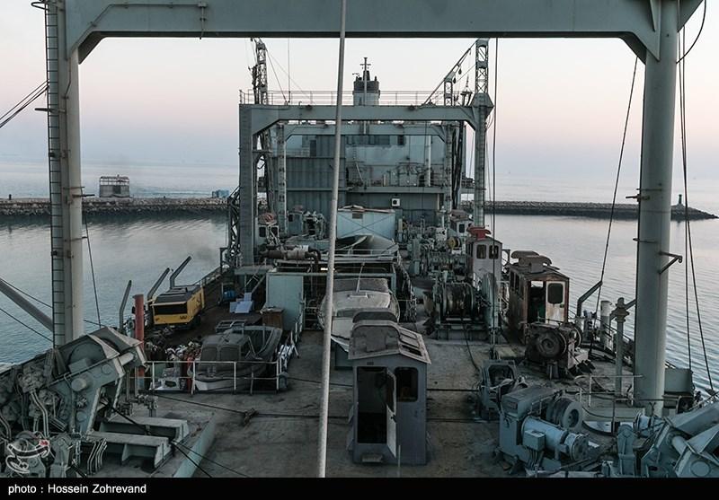 ناو خارک در آستانه الحاق دوباره به نیروی دریایی ارتش