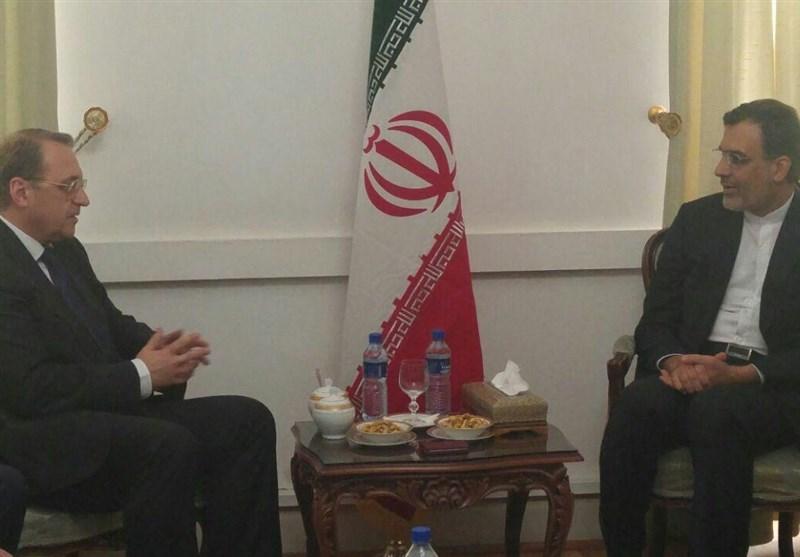 Iranian, Russian Deputy FMs Discuss Regional Issues