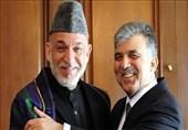 سفر حامد کرزی رئیس جمهور سابق افغانستان به ترکیه + تصاویر