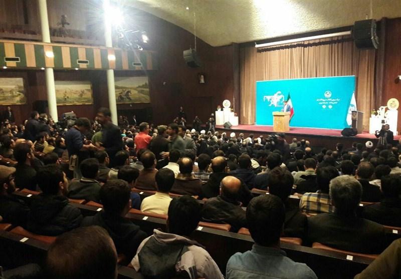 قائم پناه: آقای روحانی! به دانشگاهی که حاضر نبودید اسم آن را به زبان بیاورید خوش آمدید