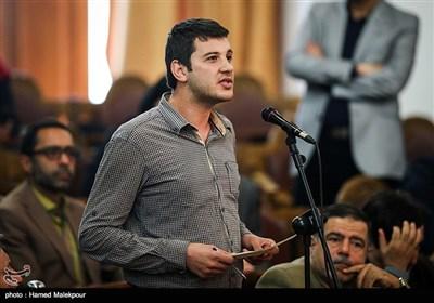 مؤتمر صحفی لرئیس مجلس الشورى الإسلامی