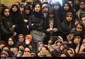مراسم روز دانشجو در دانشکده حقوق و علومسیاسی دانشگاه تهران