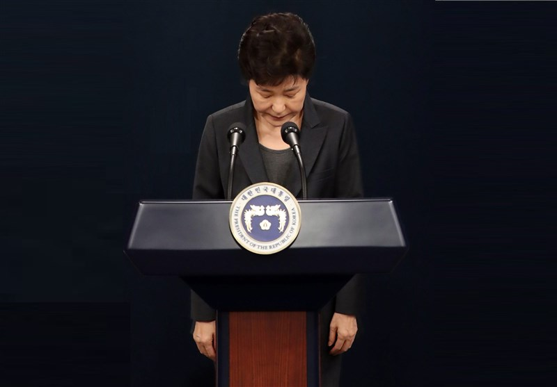 S. Korea's Park Apologizes, Promises Cooperation in Graft Probe