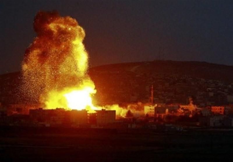 حملۀ رژیم صهیونیستی به فرودگاه نظامی مزه دمشق+عکس