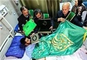عیادت خدام مسجد جمکران از بیماران