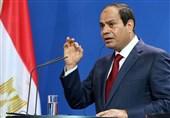 السیسی: برخی کشورها از تروریسم در مصر حمایت میکنند