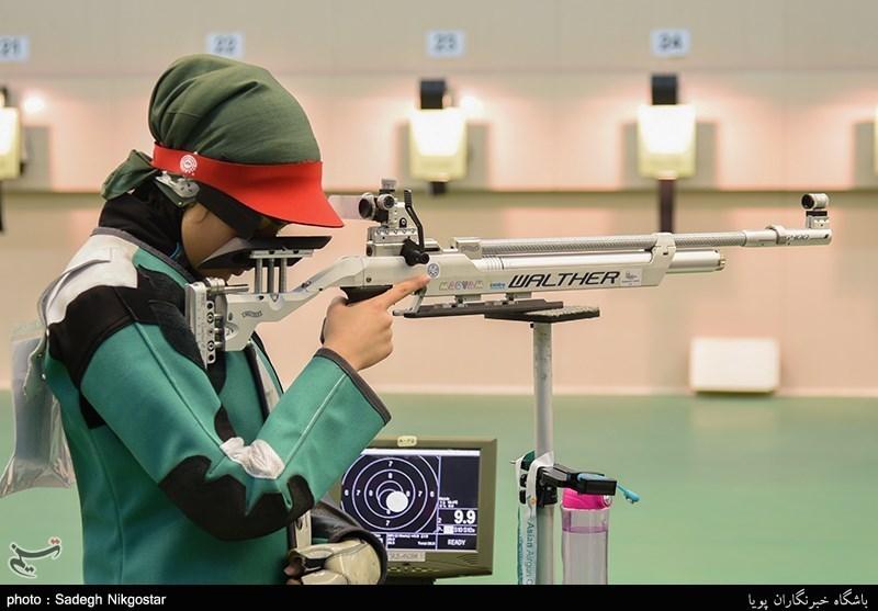 نهمین دوره مسابقات تیراندازی تفنگ و تپانچه بادی