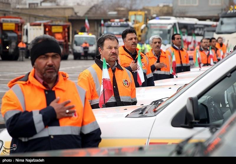 رزمایش ترافیکی طرح زمستانی در چهارمحال و بختیاری برگزار شد
