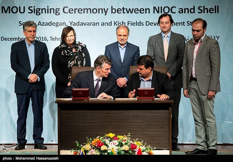 Iran's NIOC Signs Major Oil Deal with Dutch Shell