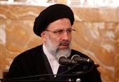 استقبال حجتالاسلام رئیسی از مناظره زنده تلویزیونی
