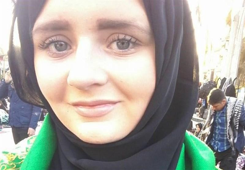 برطانیہ سے تعلق رکھنے والی عیسائی خاتون نے بھی مذہب حقہ قبول کر لیا + تصاویر