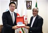 کیومرث هاشمی و رئیس پیلاتس آسیا