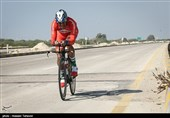 مسابقات دوچرخه سواری تایم تریل پیشکسوتان کشور - کیش