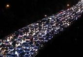 ترافیک شب تهران