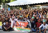 تظاهرات روهینگیا